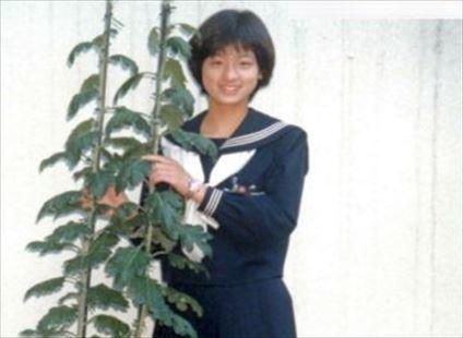 尾野真千子 中学生時代