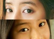 新木優子の目の比較